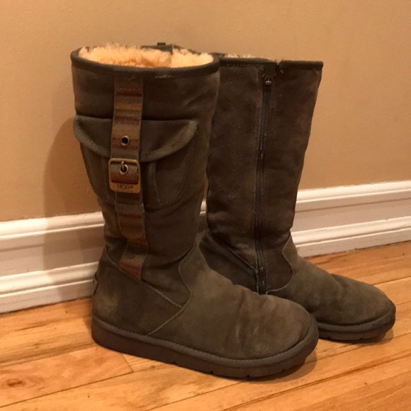 Army green uggs